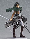 Anime Action Figures Inspired by Attack on Titan Eren Jager PVC(PolyVinyl Chloride) 14 cm CM Model Toys Doll Toy