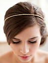 Alloy Headbands Headwear with Floral 1pc Wedding Special Occasion Headpiece