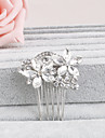 Rhinestone Hair Combs Headpiece Wedding Party Elegant Feminine Style