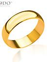 Bărbați Dame Pentru cupluri Verighete costum de bijuterii Placat Auriu Bijuterii Pentru Nuntă Petrecere Zilnic Casual Sport