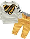 Băieți Seturi Imprimeu Bumbac Primăvară Manșon Lung Set Îmbrăcăminte