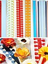 40pcs 51cm multi-forme quilling hârtie setat diferit petale de flori de creație origami DIY-fier de hârtie (set 5pcsx8)