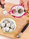 Outils de cuisine Acier inoxydable Creative Kitchen Gadget cuillere Pour Fruit 1pc