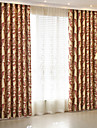 Blackout Curtains Drapes Kids Room Polyester Jacquard