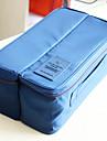 Resenecessär Bagageorganisatör Bärbar Multifunktion Packpåsar för Underkläder Kläder Strumpor BH Nylon /