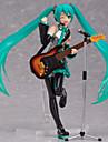 Las figuras de accion del anime Inspirado por Vocaloid Hatsune Miku CLORURO DE POLIVINILO CM Juegos de construccion muneca de juguete