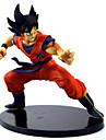 Las figuras de accion del anime Inspirado por Bola de Dragon Son Goku CLORURO DE POLIVINILO 15 cm CM Juegos de construccion muneca de juguete