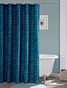 moderne perdele de dus albastru dreptunghi 71x72inch, 71x79inch