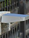 48-ledda vattentät design 600lm sol PIR-rörelsesensor ljus vägg säkerhetslampa för utomhus veranda uteplats trädgård