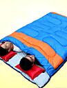 Sovsäck Dubbelbredd 10°C Håller värmen Vattentät Vindtät Damm säker Tjock 220X150 Camping Utomhus Dubbel