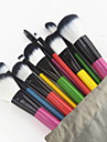 10 Contour Brush Foundation Brush Powder Brush Fan Brush Concealer Brush Eyelash Comb (Round) Brow Brush Lip Brush Eyeshadow Brush Blush