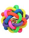 Jucărie Pisică Jucării Cățel Jucării Animale Minge Jucării de Mestecat Sonerie Nobbly Wobbly Cauciuc