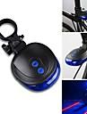 Baklykta till cykel Laser LED - Cykelsport Vattentät Laser LED ljus AAA 1000lm Lumen Batteri Cykling