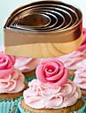 bakformen Blomma Paj Muffin Tårta Bröd Rostfritt stål GDS (Gör det själv) Hög kvalitet