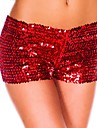 Femei Femei Pantaloni Sexy / Vintage / Club Scurt Nailon Strech