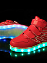 Băieți / Fete Pantofi Sintetic Primăvară Confortabili / Pantofi Usori Adidași Dantelă / LED pentru Roz / Albastru / Verde