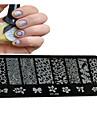 # utarbetande verktyg och tillbehör stämpelplatta nagelstämpling verktyg spikstämpling mall nagellack verktyg professionell hög kvalitet