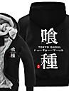 Inspirat de Tokyo Ghoul Ken Kaneki Anime Costume Cosplay hanorace Cosplay Imprimeu Manșon Lung Vârf Pentru Unisex