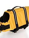 Câine Vestă de Salvare Îmbrăcăminte Câini Mată Maro Deschis Roz Deschis Alb/Albastru Alb/Roz Maro Închis Material amestecat Costume