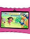 7 inch Copii tabletă (Android 4.4 1024*600 Miez cvadruplu 512MB RAM 8GB ROM)