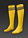 epais absorbants, les enfants de glissement respirant chaussettes du genou chaussettes de soccer sport