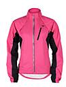 TASDAN Femme Veste de Cyclisme Velo Veste / Coupe-vent / Hauts / Top Etanche, Pare-vent, Respirable Mosaique Violet / Jaune / Rose Tenues
