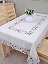 Fete de masa brodate din bumbac față de masă față de masă 140x200cm clasice (56 * 80inch)