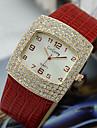 Pentru femei Ceas La Modă Quartz imitație de diamant Aliaj Bandă Negru Alb Roșu Maro Pink