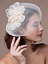 Femei Dantelă Pană Tul Diadema-Nuntă Ocazie specială Pălărioare 1 Bucată