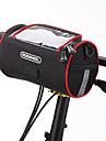 ROSWHEEL Väska till cykelstyret Mobilväska 6inch tum Fuktighetsskyddad Vattentät dragkedja Bärbar Pekskärm Stötsäker Cykelsport för