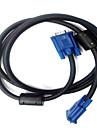 monitor 1.5m cablu vga practice
