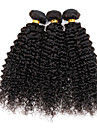 Cheveux Peruviens Kinky Curly / Tissage boucle Cheveux Vierges Tissages de cheveux humains Tissages de cheveux humains Grosses soldes