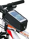ROSWHEEL Sac de cadre de velo Sac de telephone portable 4.8 pouce Etanche Zip etanche Vestimentaire Resistant aux Chocs Ecran tactile