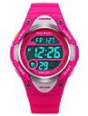 SKMEI Copii Ceas Sport Ceas digital Piloane de Menținut Carnea LCD Calendar Cronograf Rezistent la Apă alarmă Luminos Cronometru Cauciuc