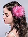 Stoff Blumen / Kopfbedeckung / Haarklammer mit Blumig 1pc Hochzeit / Besondere Anlaesse Kopfschmuck
