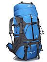 65 L ryggsäck Resa Organisatör Backpacker-ryggsäckar Camping Vattentät Snabb tork Bärbar Andningsfunktion Nylon Terylen