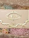 Împăturit în 3 Invitatii de nunta Invitații Stil Clasic Hârtie perlă