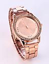 Pentru femei Ceas La Modă Quartz Ceas Casual Oțel inoxidabil Bandă Lux Sclipici Argint Auriu Roz auriu