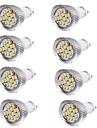 6W GU10 Spoturi LED MR16 15 led-uri SMD 5630 Decorativ Alb Cald Alb Rece 450-500lm 3000/6000K AC 220-240 AC 100-240 AC 85-265V