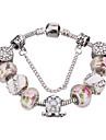 Pentru femei Brățări cu Talismane Brățări Bangle Bratari Strand Cristal La modă Ștrasuri Durabil European Cristal Teracotă Ștras Argilă