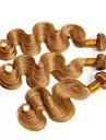 Peruanskt hår Kroppsvågor Hårförlängning av äkta hår 3 delar 0.4