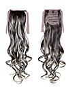 Cheveux Synthetiques Extension des cheveux Ondule Classique Type Croise Quotidien Haute qualite Queue-de-cheval