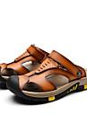 Bărbați Pantofi Piele Vară Sandale Plimbare Pentru Casual Maro Albastru Camel