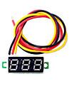 0,28 tum mini ledde dc2.5-30v volt mätaren digital voltmeter
