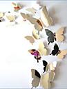 Animale Perete Postituri 3D Acțibilduri de Perete / Acțibilduri de Oglindă Autocolante de Perete Decorative / Autocolante de Nuntă,PVC