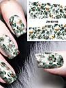 1pcs Autocollant de transfert d\'eau Modele d\'estampage d\'ongles Nail Art Design Quotidien Classique Haute qualite