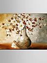 Pictat manual Abstract / Peisaj / Natură moartă / Fantezie / Floral/Botanic Picturi de ulei,Modern / Pastoral / Stil European Un Panou
