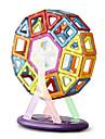 64 pcs Jucării Magnet Bloc magnetic Placi magnetice Lego Metalic Fier ABS Magnetic Încântător Reparații Pentru copii / Adulți Băieți Fete Jucarii Cadou