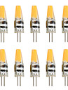 10pcs 2W 200-250 lm G4 LED-lampor med G-sockel T 1 lysdioder COB Dekorativ Varmvit Kallvit AC 12V