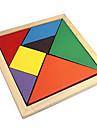 Tangram Puzzle Puzzle Lemn Jucării Educaționale Plin de Culoare De lemn Clasic & Fără Vârstă Fete Cadou